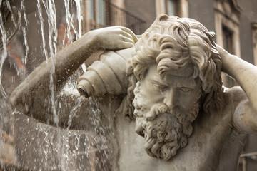 Fontana dell'Amenano, Catania piazza Duomo