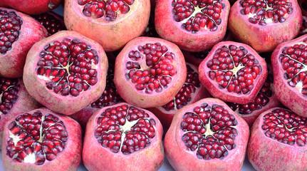Pomegranate slices
