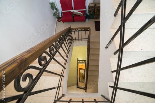 Square Spiral Stairs Fotos De Archivo E Im Genes Libres