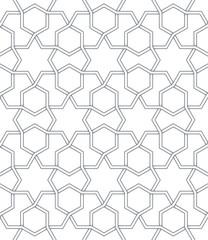 Islamic traditional pattern.