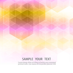 Abstract Geometrical Background Vector Illustration EPS10
