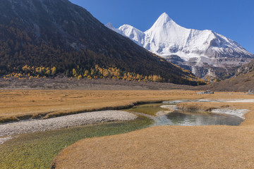 Yading national reserve in Daocheng