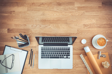 office desk hero header