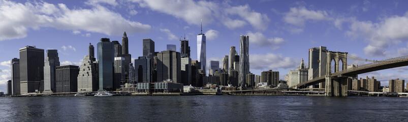 Manhattan, New York from Dumbo, Brooklyn