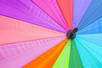 Colorful Outdoor Umbrellas Background.