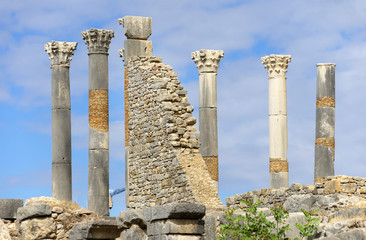 Ruins of Volubilis, Morocco, Africa
