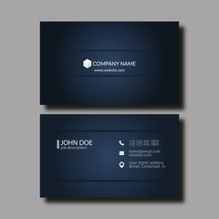 Business Card Template.