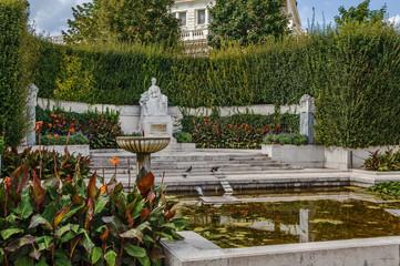 Monument to Empress Elisabeth, Vienna, Austria