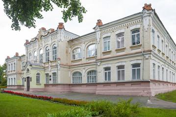 Secondary school in the town of Krolevets, Sumy region. Ukraine