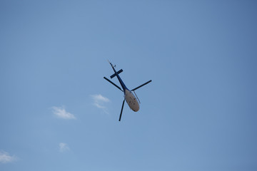 small two-seat helicopter