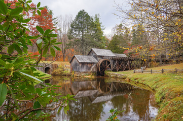 Mabry Mill on the Blue Ridge Parkway, Virginia