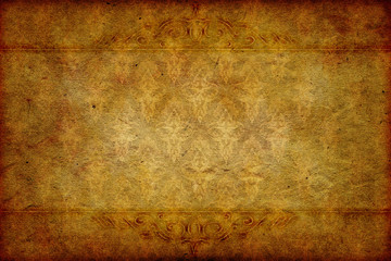 victorian paper background with baroque