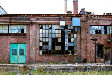 Abandoned Building in an Area of Urban Decay