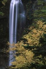 秋の平湯大滝