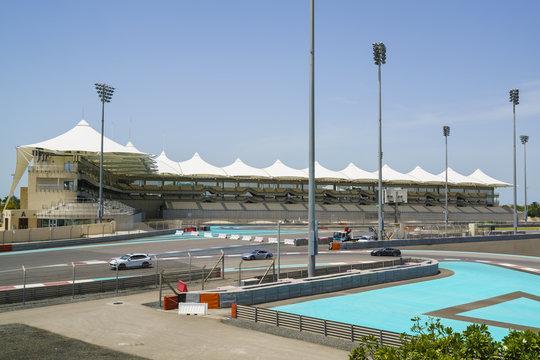Yas Marina Formula One circuit, Yas Island, Abu Dhabi