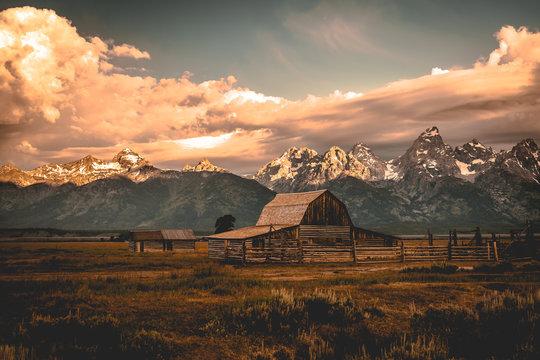 Moulton Barn in the Grand Teton National Park, Wyoming