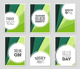 Abstract vector layout background set. For art template design, list, page, mockup brochure theme style, banner, idea, cover, booklet, print, flyer, book, blank, card, ad, sign, sheet, a4.