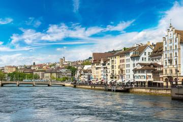 Historical part of Zurich