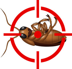 Cockroach on Target Icon