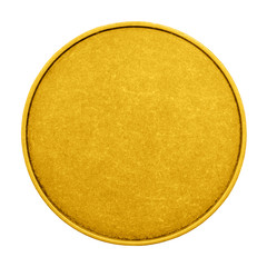 empty coin game color medal