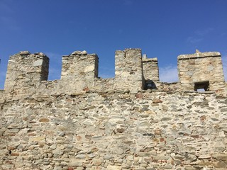 Fortress in Kavala, Greece