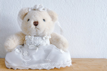 Teddy Bear, Close up photograph of a cute teddy bear..