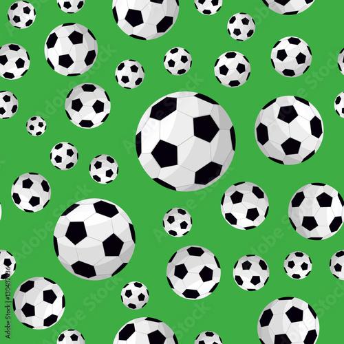 Soccer ball pattern background
