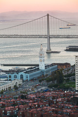 Bay Bridge and Ferry Building