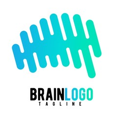 brain vector logo