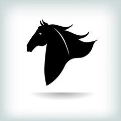 Horse Logo Template. Vector illustration