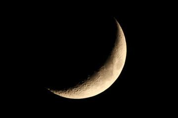 三日月:月齢4.5