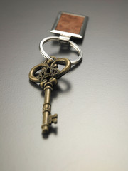 old key with new key chain