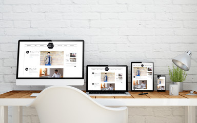 multidevice desktop blog
