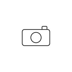 camera vector outline icon