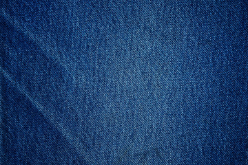Blue jean background and texture