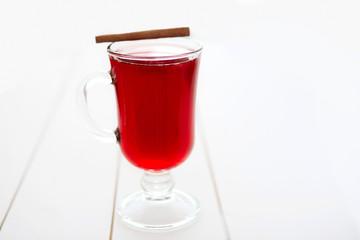 Winter drink mulled wine