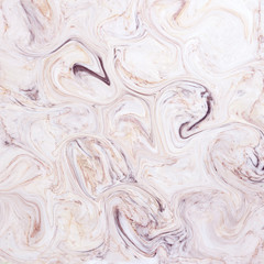 Creative background with abstract acrylic painted waves. Beautif