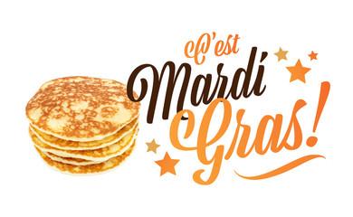 C'est Mardi gras !