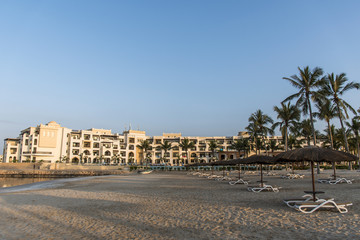 Sultanate Oman Souly Bay Beach and Hotels Oceanside 8