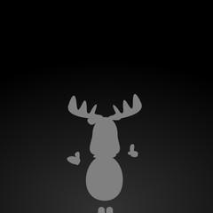 Rentier Rudolph und Weihnachten