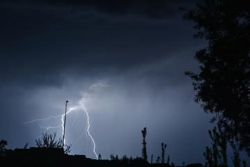 Street Light Lightning