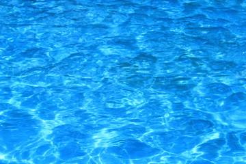 light blue water