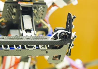 spy camera details on drone