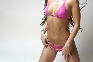 Unrecognizable Female Body