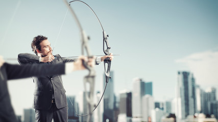 Challenge for reach and hit new business targets