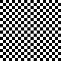 Seamless b&w classic punk checkered pattern. Checkered board vector pattern. Minimalist modernist.