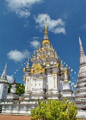 Chaiya pagoda temple.