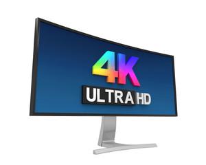 4K Ultra HD Wide Monitor