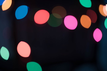 Blinker background with nighttime