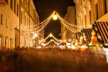 Christmas market in Goerlitz - Saxony - Germany